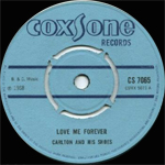 Carlton and the shoes Love me forever Coxsone