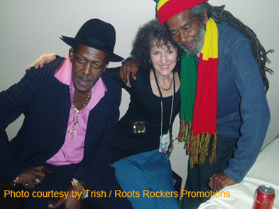Gregory Isaacs, Trish & Max Romeo